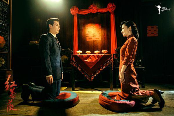 《红蔷薇》杨子姗陈晓洞房花烛 深入虎穴打响潜伏战