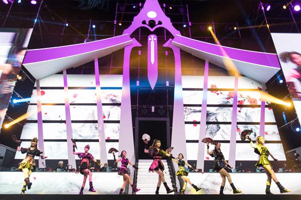 国风女团SING接棒韩国超人气组合T-ara,热舞助