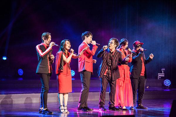 节奏部落跨年演唱会完美落幕,开启东方阿卡贝拉新纪元