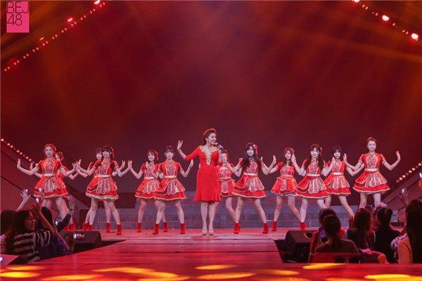 BEJ48亮相CCTV网络春晚 元气歌舞欢乐迎新春