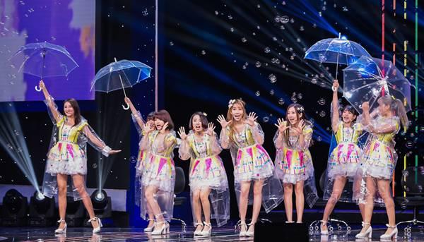 SING女团再登央视《开门大吉》 实力为春晚预热!