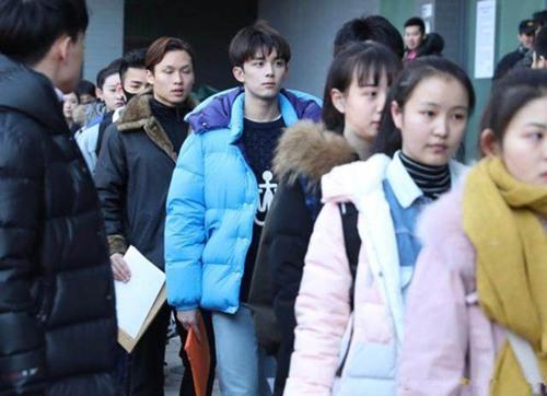 吴磊现身北电艺考 吴磊高考什么时候参加?吴磊身高多少?