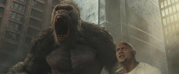 电影《狂暴巨兽》定档4月13日同步北美!巨石强森为救世界对抗惊天巨兽!
