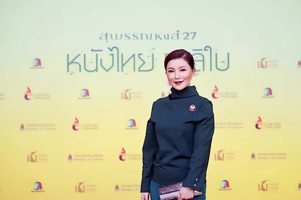 第27届泰国金天鹅奖盛大举行 活动现场星光熠熠