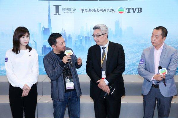 《冲上云霄2020》在港重磅发布 腾讯影业与TVB创新合作再续经典