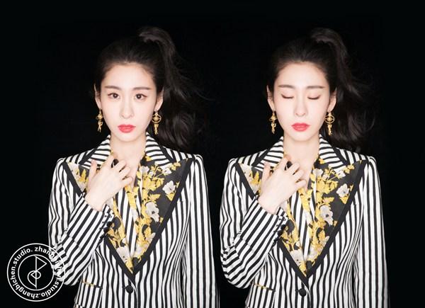 张碧晨荣获东方风云榜最受欢迎女歌手 现场首唱最新情歌