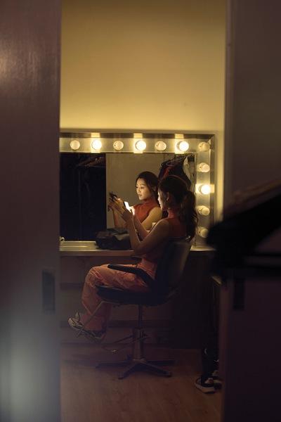 卫诗雅拍摄杂志大片,不愿角色被定型