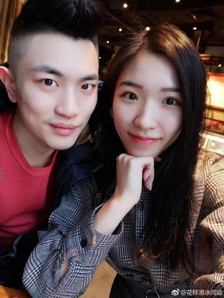 花滑闫涵公布恋情  闫涵女朋友是谁?