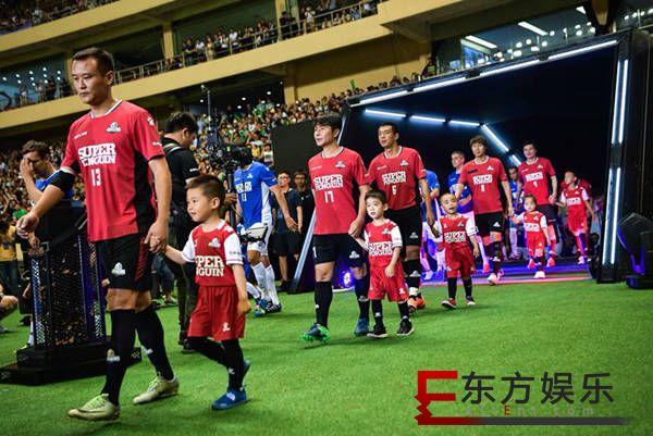 """超级企鹅足球名人赛""""先踢为敬"""" 腾讯体育开启世界杯序幕"""