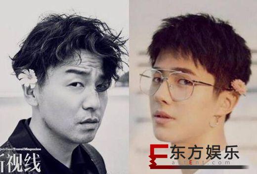 雷佳音刘昊然撞造型 网友:哥,你赢在成熟!
