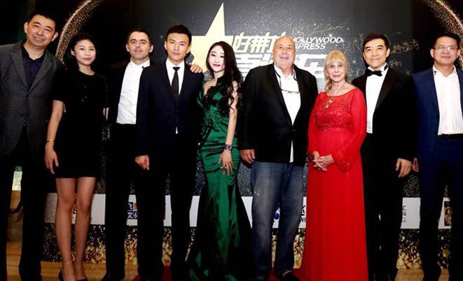 2018好莱坞直通车之夜在沪举办 宣布《J·goes to Hollywood》将启动开拍