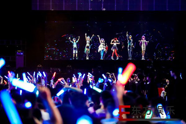 2018 BML&Vsinger Live洛天依全息演唱会梅奔开演 引爆BML之夜
