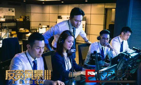 《反贪风暴3》上映4天破2.1亿票房 张智霖古天乐同台飙戏 口碑走高