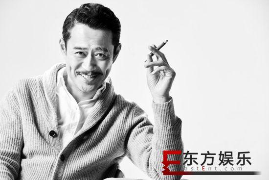 刘钧最新写真曝光 完美诠释型男大叔魅力