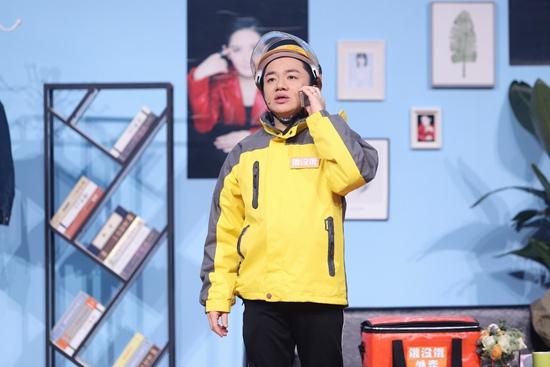 王祖蓝元宵喜乐会出演小品《你的外卖》传递职业正能量