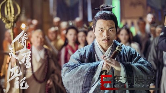 陈剑新版《倚天屠龙记》饰莫声谷 性格爽朗极具真性情