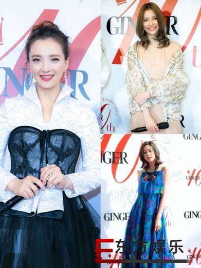 《GINGER》盛典汇聚日本一线 孙茜唯一受邀华人女星闪耀异国