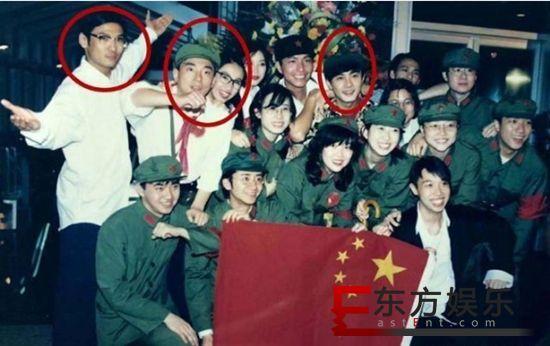 黎姿晒20年前旧照 与郭富城张卫健等同框青春洋溢!