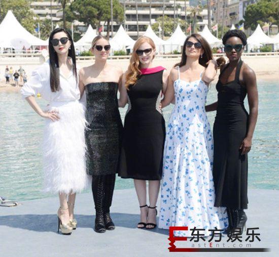 范冰冰确定复出演戏 与好莱坞女星合拍《355》!