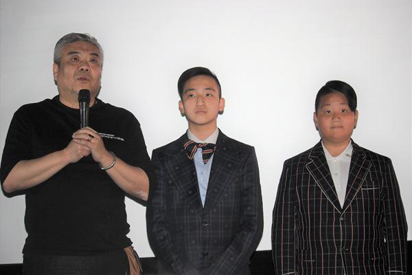 《恶魔天才》在京举行首映  预祝票房大卖