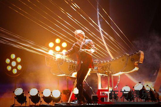 世界最大弦乐器——大地竖琴震撼登陆 奏响大气磅礴的交响诗