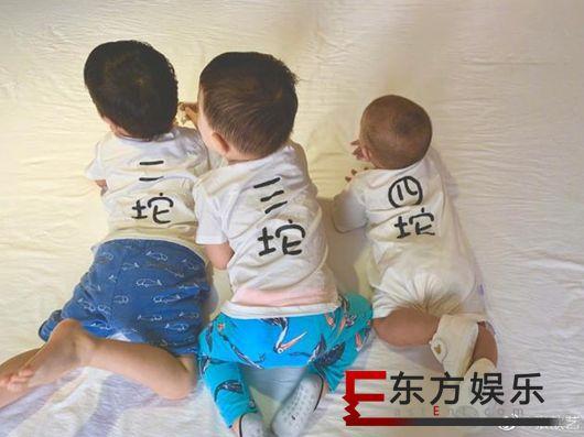 张歆艺晒儿子爬行照 网友调侃袁弘是一坨?