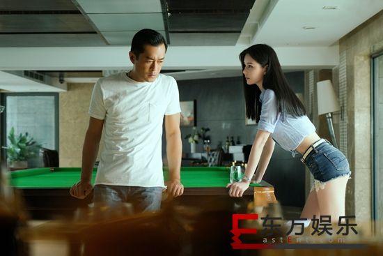 """《追龙2》曝女主邱意浓个人海报 行走的雕塑在线""""索命"""""""