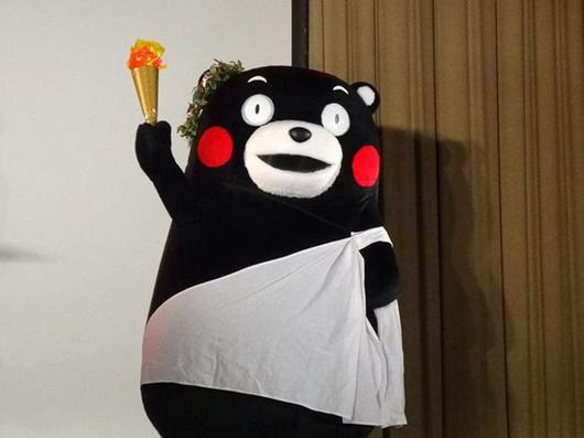 熊本熊无缘担任东京奥运火炬手 官方:不是人类同时年龄太小!