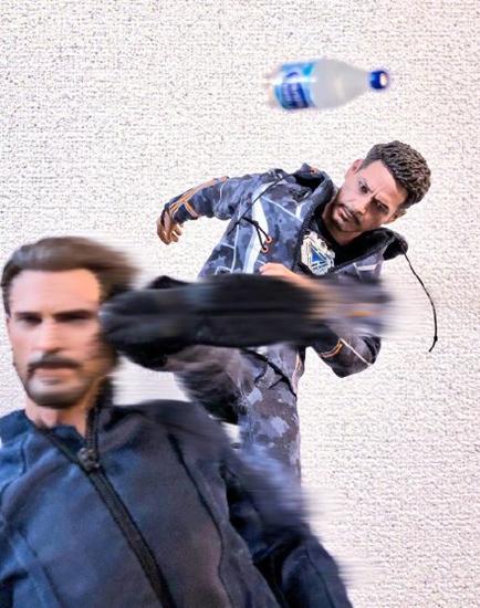 钢铁侠的瓶盖挑战 网友直呼找到内战的原因!