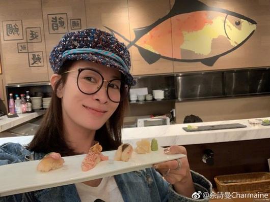佘诗曼回应减肥秘籍:拍的量大但不会全吃完!