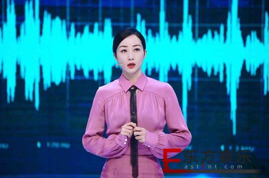韩雪百变声音挑战智能 CCTV1《机智过人》传递有温度的科技