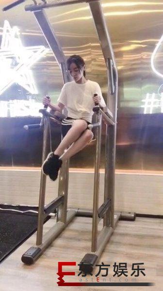 袁姗姗运动视频曝光  动作流畅身材吸睛