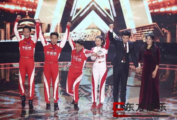 《中国达人秀》绝美空中舞蹈尽展东方韵味,飞车特技表演再获沈腾力挺