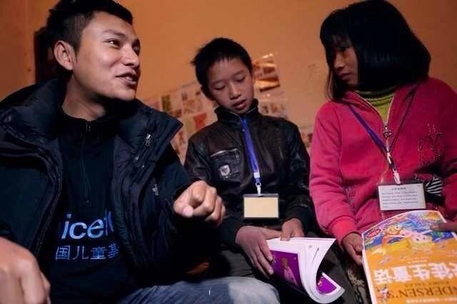 陈坤微博晒素颜童趣自拍 呼吁大众关注儿童权利