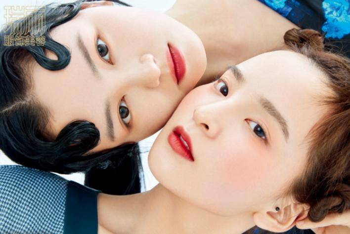 东方少女瑞丽杂志大片释出  经典国风妆容融入现代造型国潮味十足