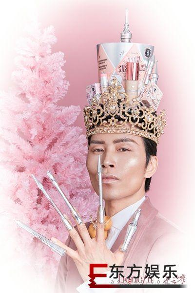 benefit贝玲妃携手艺术家万云峰跨界造圣诞节震撼美妆