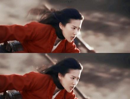刘亦菲马上翻跟头 一镜到底帅气十足