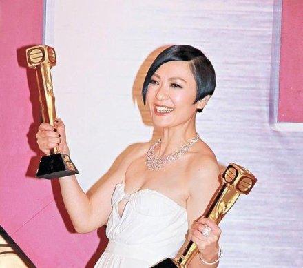 田蕊妮离巢TVB 服务TVB12年曾两夺视后!