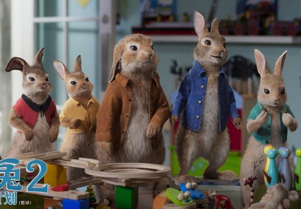 《比得兔2:逃跑计划》曝城市探险预告 超级萌兔开启城市冒险