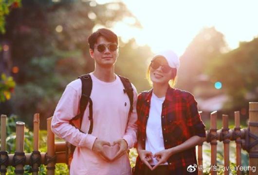 TVB花旦杨怡怀孕 夫妻俩对镜比心超开心!
