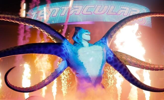 《怪兽训练营》曝光全球首款预告及海报 废柴怪兽热血出击迎战摔跤霸主