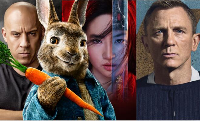 好莱坞多部大制作电影推迟上映 《比得兔2》全球改档至8月7日