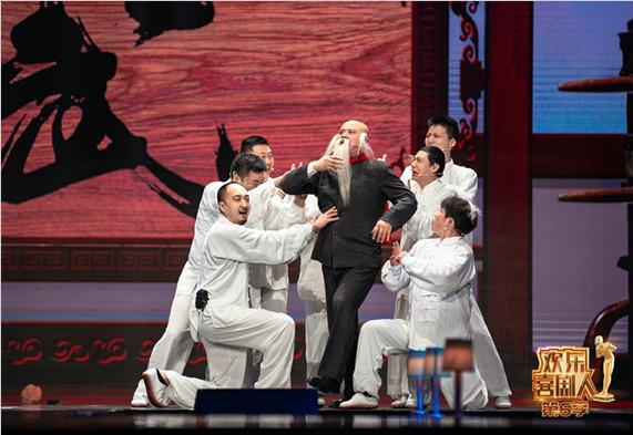 《欢乐喜剧人6》烧饼曹鹤阳复活赛成功突围直通总决赛
