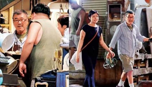 李宗盛与小27岁娇妻逛古董店 手牵手画面温馨幸福