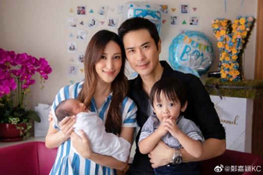 郑嘉颖二胎得子 妻子陈凯琳状态状态良好!