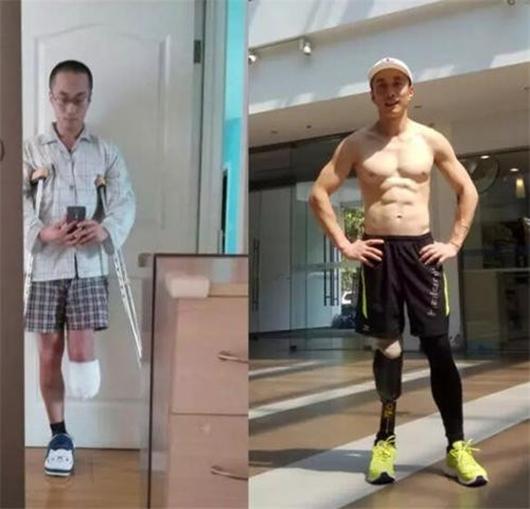 独脚大叔连续奔跑26小时,创造腿部截肢者长距离越野世界纪录