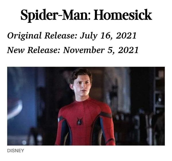 荷兰弟版《蜘蛛侠3》将于明年年初开拍 电影2021年底上映