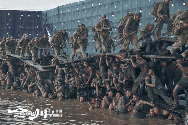 """《金刚川》特辑揭秘""""人桥""""幕后 血肉之躯搭建""""英雄之桥"""""""