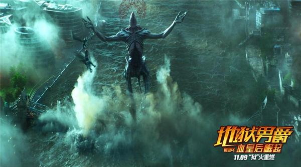 《地狱男爵》震撼视效大赏:地狱男爵生猛一挑三武力值冲破银幕