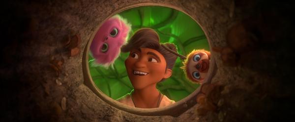 《疯狂原始人2》今日正式上映 快乐来袭用感动温暖冬天